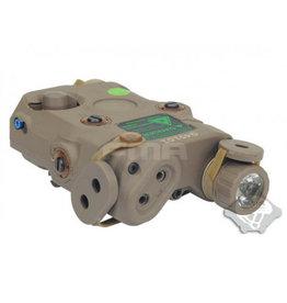 FMA AN-PEQ15 upgrade version - 3 in 1 light green laser lR module - TAN