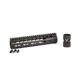 Evolution 9'' 6065 CNC Keymod Handguard - BK