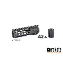 """DYTAC 6.7"""" SLR Solo Lite Keymod Rail - BK"""