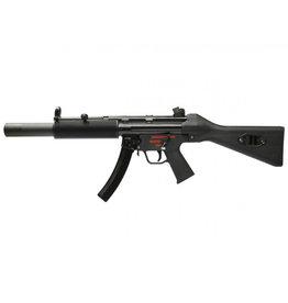 WE Tech MP5 SD1 GBB Apache submachine gun - 1.70 joules - BK