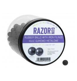 RazorGun Billes en caoutchouc avec remplissage en fer cal .50 pour HDR50 / HDP50 - 500 pièces