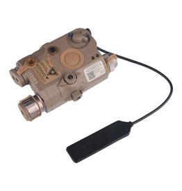WADSN LA-5C UHP / PEQ-15 light / IR laser module - TAN