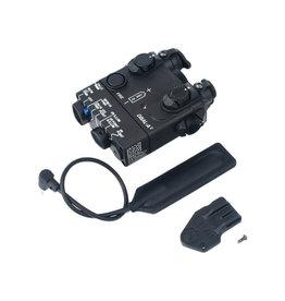 WADSN DBAL-A2 multifunctional light 2 x laser module - BK