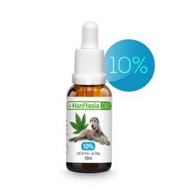 HanftAsia CBD Bio Öl Tropfen 5% für Tiere bis 50 kg