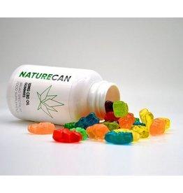 NatureCan delicious 10mg CBD gummy bears - 30 pieces