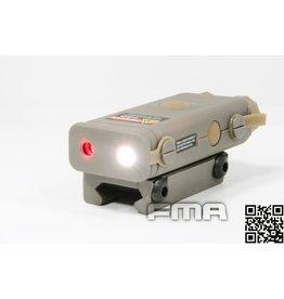 FMA PEQ10 light laser module - TAN