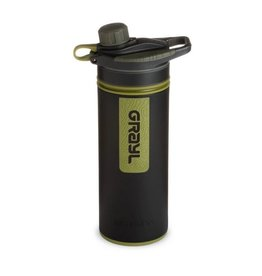 Grayl Frasco purificador GeoPress com filtro de água - preto Camo