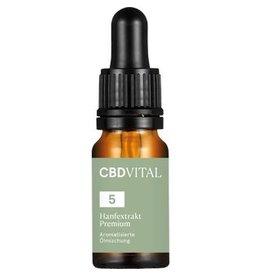 CBD Vital CBD Aroma Oil Hemp Extract Premium 5% - 10ml