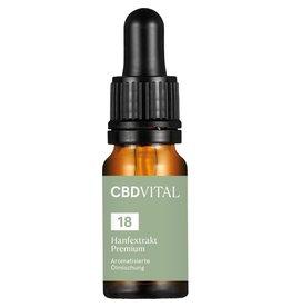 CBD Vital CBD aroma oil hemp extract premium 18% - 10ml