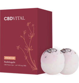 CBD Vital CBD bath balls (2 pieces)