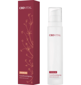CBD Vital Facial cleansing