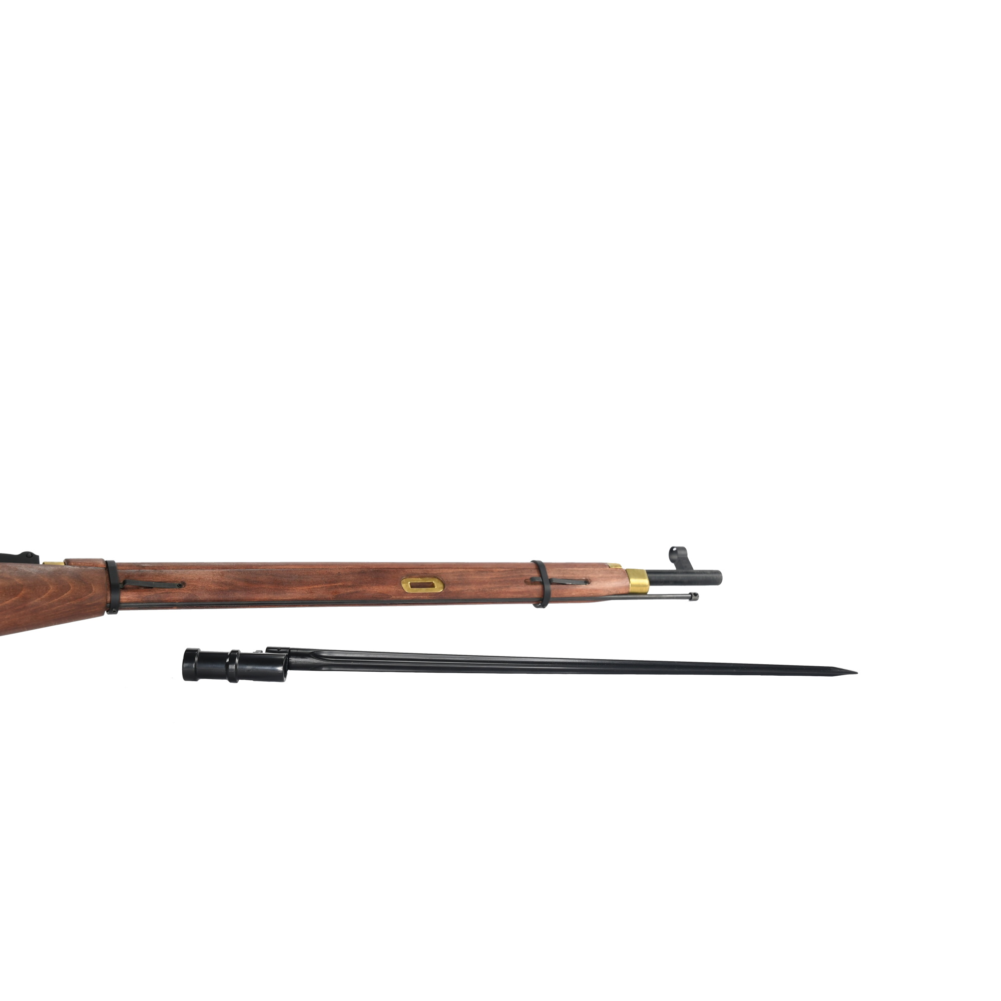 PPS AirSoft Mosin Nagant GBBR Sniper Rifle 1.88 Joule with Scope - real wood look