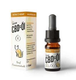 VITADOL Vetrihemp – Bio CBD Öl für Katzen 4 %