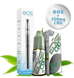 VITADOL EOS Starterset Vape Pen 320 mAh + EDGE CBD 250 mg