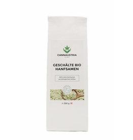 CannAustria Graines de chanvre bio pelées et prêtes à manger (250 g)