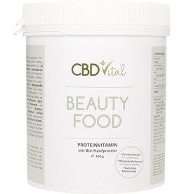CBD Vital Beauty Food Proteinvitamin mit Bio-Hanfprotein (400 g)