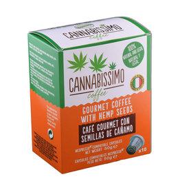Cannabissimo Hemp coffee capsules (10 pcs.)