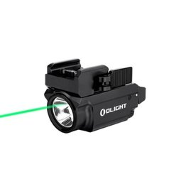 OLight Baldr Mini TacLight 600 Lumen & grüner Laser - BK