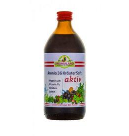 Aronialand Bio Aronia Kräuteraktiv + Magnesium - 500ml