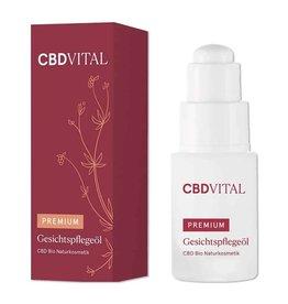 VITADOL VITAL - Huile de soin du visage CBD Premium 0,5%