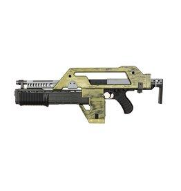 Snow Wolf M41A Pulse Alien Gun AEG 0.67 Joule - BK/TAN