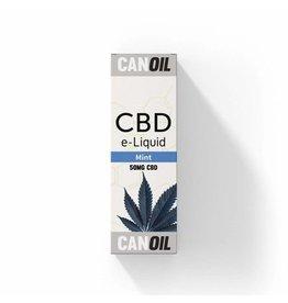 CanOil CBD E-Liquid Mint 50 mg - 10ml