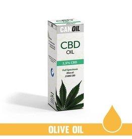 CanOil Full Spectrum CBD Hemp Seed Oil 2.5% - 10ml
