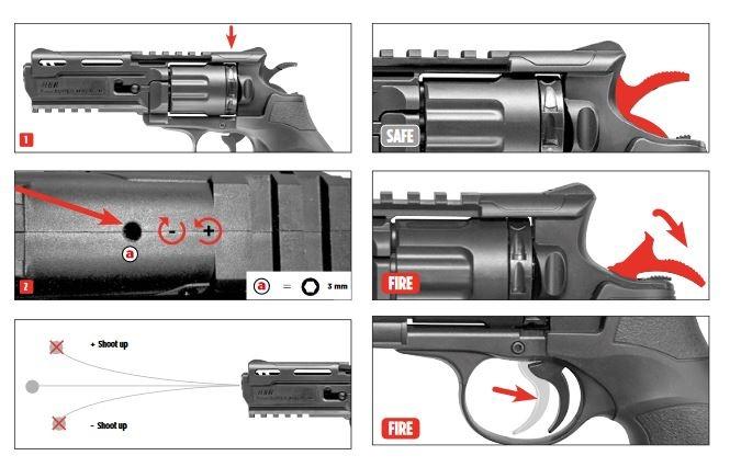 Elite Force H8R Gen2 Co2 Revolver 1,0 Joule - WH