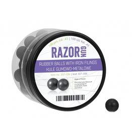 RazorGun Rubber balls with iron filling cal .43 - 100 pieces