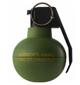TAGinn Grenade à fragmentation TAG-67 AirSoft BB - OD