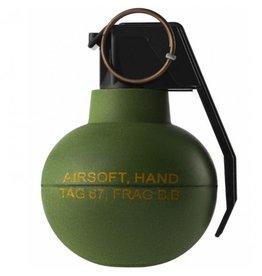 TAGinn TAG-67 AirSoft BB frag grenade - OD