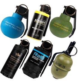 TAGinn Boîte de grenadiers composée de 6 grenades à main différentes