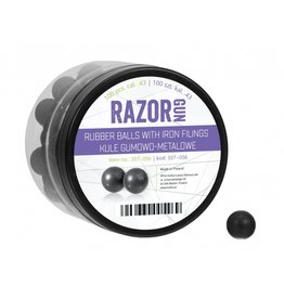 RazorGun Rubber balls with iron filling cal .50 for HDR50 / HDP50 - 100 pieces