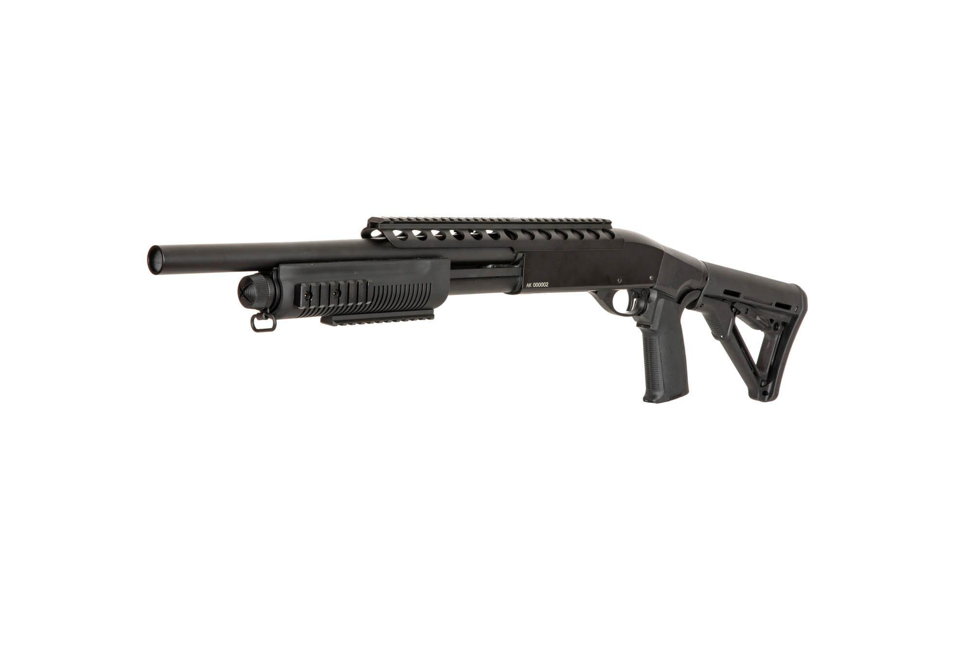 A&K SXR-002 tactical 3 burst shotgun 0.83 joules - BK