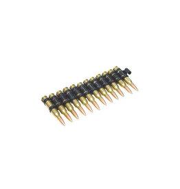 A&K M249 5.56 ceinture de cartouche factice - 12 pièces