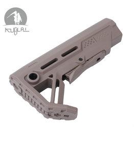 Kublai Type MOD1 nylon stock - TAN