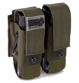 Enola Gaye Smoke Grenades Molle Double Pouch - OD