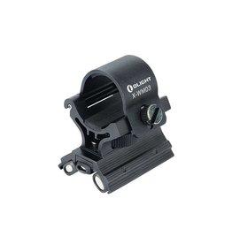 OLight magnetic RIS / Picatinny Flashlight Mount - BK