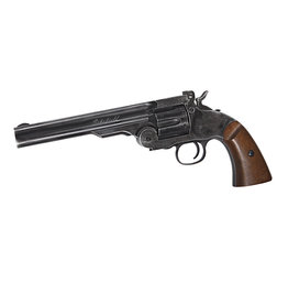 ASG 6 Inch Schofield CO2-Revolver cal. 4.5 mm 4.0 joules - BK / Wood