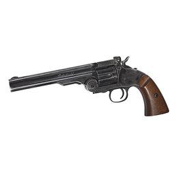 ASG 6 Zoll Schofield CO2-Revolver Kal. 4,5 mm 4,0 Joule - BK / Holzoptik