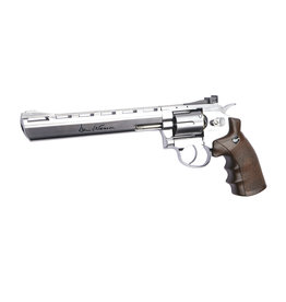 ASG 8 Zoll Dan Wesson Revolver 4,5 mm BB 3 Joule - Silber