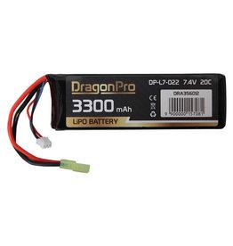 DragonPro 7.4V 3300mAh 20C Nunchuck