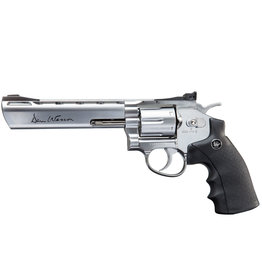 ASG 6 Zoll Dan Wesson Revolver 6 mm BB 1,9 Joule - Silber
