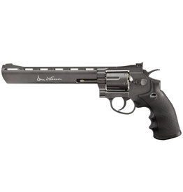 ASG 8 Inch Dan Wesson Revolver 6 mm BB 2.7 Joules - BK