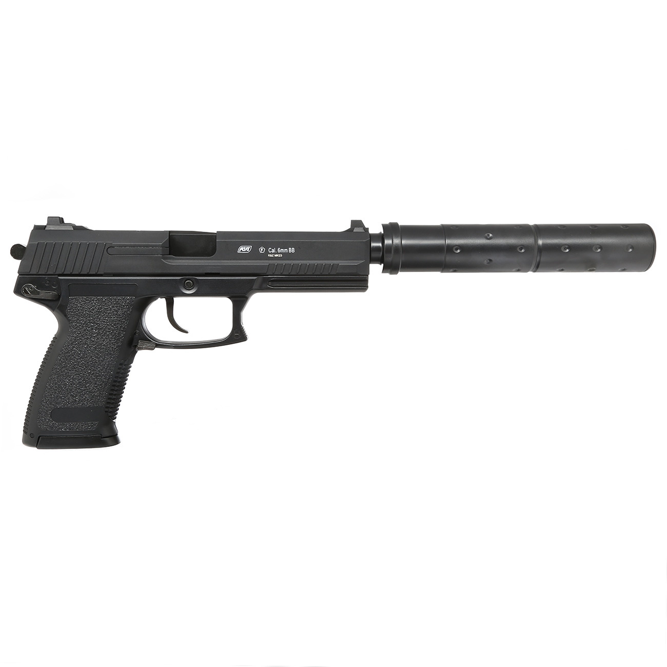 ASG MK23 Special Operations with Silencer Gas NBB 1.5 Joule - BK