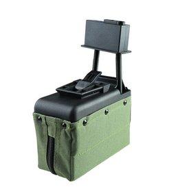 A&K M249 Box Magazin 1.500 BBs - OD