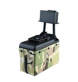 A&K M249 Box Magazin 1.500 BBs - MultiCam
