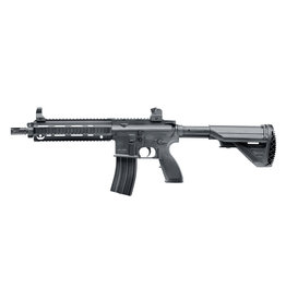 H&K HK416 D spring pressure 0.50 joules - BK