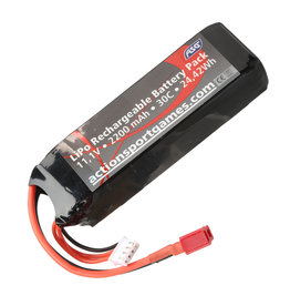 ASG Li-Po 11.1V 2200mAh 30C T-Plug