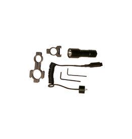 ASG Taschenlampe mit Halterung und Fernschalter - BK